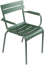 Fauteuil empilable Luxembourg / Aluminium - Fermob