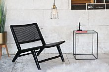 Fauteuil en cannage Black Thisted