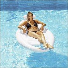 Fauteuil gonflable avec porte-gobelet Lounger surf