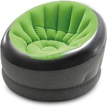 Fauteuil gonflable jazzy vert - intex