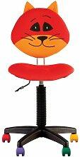 Fauteuil jouet chat, chaise de bureau pour enfant.