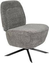 Fauteuil Lounge gris clair