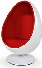 Fauteuil oeuf design uovo ii AC00120WHRE
