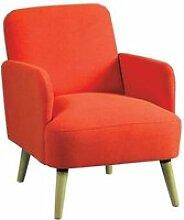 Fauteuil Orange style Scandinave - BODO - L 63 x l