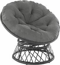 Fauteuil papasan GARGANO - chaise papasan, meuble