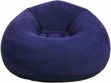 Fauteuil pouf gonflable et confortable, fauteuil