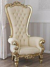 Fauteuil Regina Style Baroque Français trône