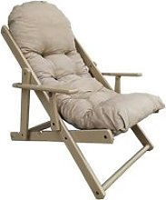 Fauteuil RELAX 3 positions laqué blanc MESSICO