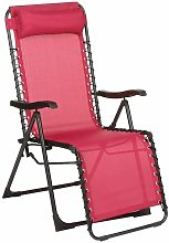 Fauteuil relax Silos framboise - Rose