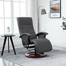 Fauteuil Relax TV pivotant Chaise Salon Salle de