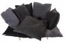 Fauteuil rembourré Comfy - Seletti gris en tissu