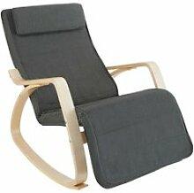 Fauteuil siège à bascule lounge confortable au