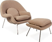 Fauteuil Womb - Sable