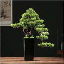 Faux Plante Décoration Bonsaï artificiel Pine