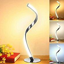 Fbestxie Lampe De Table LED Design en Spirale -
