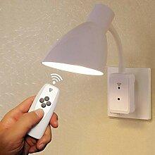 FCS Veilleuse Mur Intelligent LED Lampe de Chevet