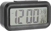 Fdit Réveil numérique à LED, rétroéclairage