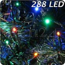 FDL Guirlande lumineuse avec petite LEDs 3 mm 288