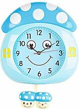 FEBT Horloge décorative, Horloge Murale Matériau