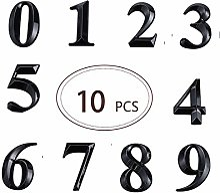 FECTY 10 pièces Numéros de boîte aux Lettres