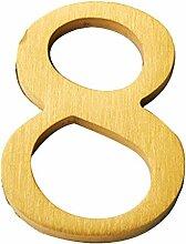 FECTY Numéros de la Maison de cuivre de 1,65