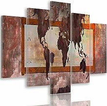 Feeby Frames, Tableau multi panneau 5 parties,