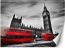 Feeby Papier Peint Intisse Autobus Londres Ville