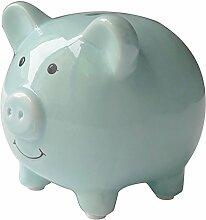 feifuns JYD Tirelire cochon en céramique -