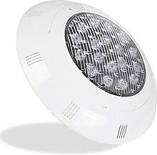 Felenny Lampe de piscine LED 24 W RGB étanche