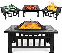Femor Foyer Multi-Fonction 3 in 1 Barbecue