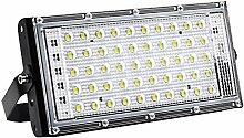 Fenteer 50W LED Projecteur Étanche Éclairage de