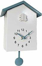 Fenteer Coucou Horloge Murale, Nichoir Minimaliste