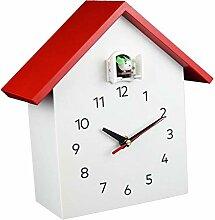 Fenteer Décoratif Horloge Murale, Coucou Horloge