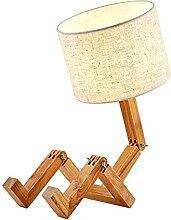 Fenteer Lampe de Table Adjustbale Lampe de Bureau