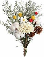 Fenteer Tige de Plante de Bouquet de Fleurs