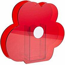 Fenteer Vase À Fleurs en Acrylique, Support