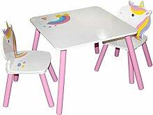 FERMO Table Enfant Licorne CHAISES Ecole ÉCOLIER