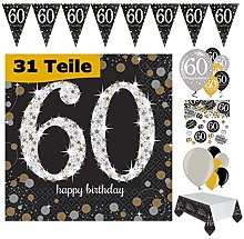 Feste Feiern Décoration de fête de 60e