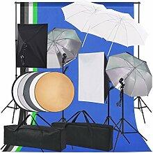 Festnight Kit d'éclairage de Studio Photo