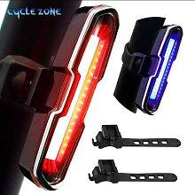 Feu arrière de vélo Ultra lumineux à LED, 5