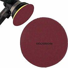Feuilles de disques à sabler de 7,6cm