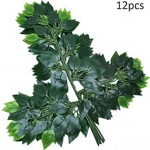 Feuilles de Ficus artificielles, 12