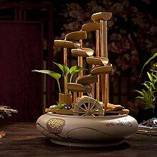 FF&XX Céramique Eau De Bambou Fontaine