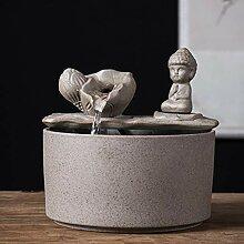 FF&XX Céramique Zen Moine Figurine