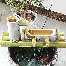 FF&XX Eau De Bambou Fontaine d'eau De Jardin