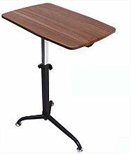 FGDSA Table De Lit avec roulettes Bureau