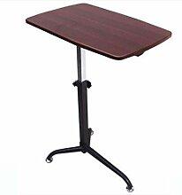 FGDSA Table De Lit avec roulettes Support De