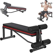 FGVDJ Banc d'entraînement Banc de Musculation