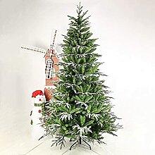 FHKSFJ Arbre de Noël pré-éclairé en PVC Sapin