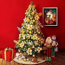 FHKSFJ Arbre de Noël pré-éclairé LED